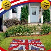 Grow your own celebration flag - Union Flag Plant Bedding Pack plus Flag £19.90 delivered @ Dobies