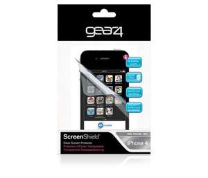 Mobile Phone Accessories reduced - Gear 4 Iphone 4/4s screen protector pack £2 @ Tesco