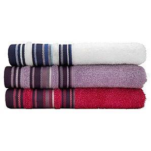 ASDA Stripe Bath Towel £3 & Bath Sheet £6