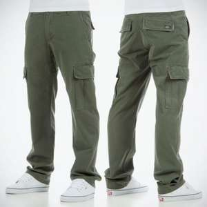Etnies Vancouver cargo pants £6 reduced from £45 + £ 3.95 postage @ Rollersnakes