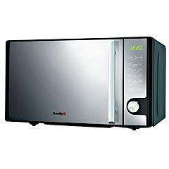 Breville VMW176 Easitronic Black Grill Microwave Oven Black with Mirror Door £59.99 delivered at Sainsburys