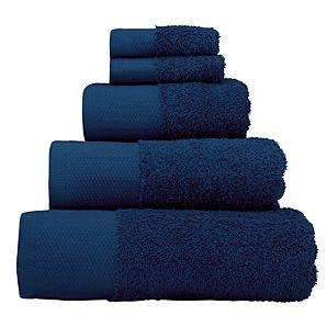 Navy or Natural Bath Towels for £3 at Asda Direct
