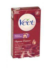 Veet Bikini and Underarm 14 Wax Strips  FREE DELIVERY £3.49 concordextra