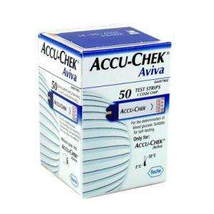 Accu-Chek Aviva Glucose Test Strips 50 Strips for £20.49 @ Pharmacyfirst (2 packs for free delivery)