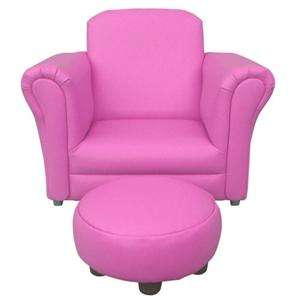 Children's Pink Rocking Chair With Footstool £29.99 @ Home Bargains
