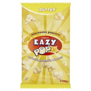 Magicorn Eazy Pop microwave popcorn £0.29 each or 4 for a £1 @ Home Bargains instore