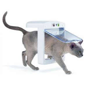 Cat flap deals cheap price best sale in uk hotukdeals pet porte smart chip cat flap for 69 with free delivery hillcrest animal hospital fandeluxe Choice Image