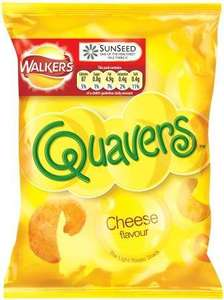 Walkers Cheese Quavers 34.5g-3 for 99p or 39p each @99p store