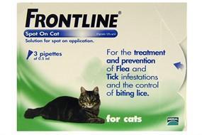 Frontline Spot On Cat - 6 Pack - £17.00 Delivered @ Animed Direct