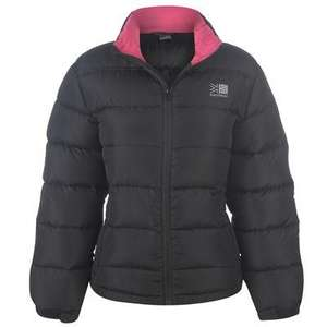 Ladies Karrimor Down Jacket - Up To 80% Off Jacket ,One Day Only £19.99 + £3.99 delivery @ Field & Trek