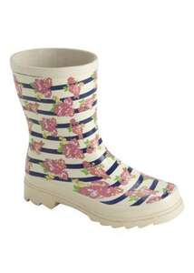Ladies floral wellington boot £6 @ Matalan and more under £10 ladies and kids
