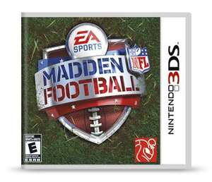 Madden NFL Football for Nintendo (3DS) (new) £5.02 @ CURRYS/PCWORLD (eBay)