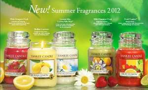 Free Samples of all 5 new Summer Fragrances from Yankee Central Candles