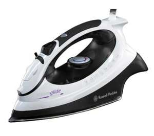 Russell Hobbs 18052 SteamGlide Professional Steam Iron - Black & White - was £49.99 now £24.99 delivered @ Currys