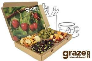 4 Graze Boxes for £5 delivered save 62% @ Groupon + 5% Cashback through Quidco