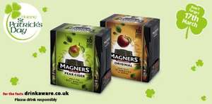 6x568ml Magners bottles Original or Pear £6.99 at ALDI
