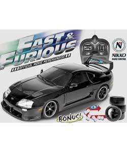 Nikko Toyota Supra 1:16 Radio Controlled Car £9.99 (was £29.99) at Argos