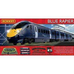 Hornby R1139 Blue Rapier 00 Gauge Electric Train Set.  £59.99 @ Argos