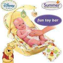 Disney Winnie The Pooh Deluxe Baby Bather with Toy Bar £15.99 @ Argos