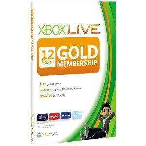 12 Months Xbox Live Gold - £26.99  Using Currys 10% Price promise