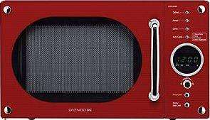 Daewoo Kor6n9rr 20 Litre Microwave Red 45 Asda Direct