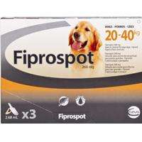54% off Fibrospot for dogs :) at VetUK free postage on orders over £19