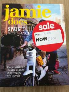 Jamie Oliver Cookbook - Jamie Does... £2.50 Instore at Asda