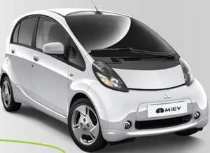 48 hour test drive in Mitsubishi I-Miev Electric car.