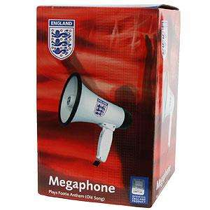England Megaphone With Ole Song @ homebargains.  £2.99