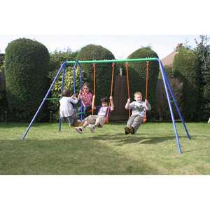 Smyths Toys Delta Double Swing and SeeSaw was £44.99, now £34.99!