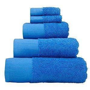 Asda Blue Bath Sheet for £3 and Hand towels for £1