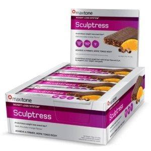 24 X Maxitone Sculptress Protein Bars @ Discount Supplement - £18.95 (save £33) + 12%Quidco