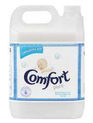 Comfort Concentrate Pure Fabric Softener - 142 Washes (5 lt) at Asda Online and Instore, only £5