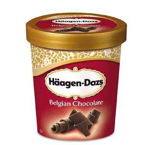 Häagen-Dazs Belgian Chocolate Ice Cream 500ml only £1 at Morrisons