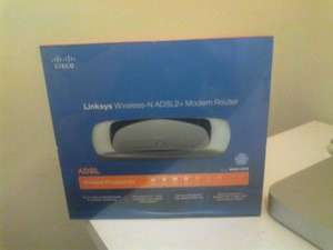 LINKSYS WAG160N ADSL Modem/Router - £19.99 @ Sainsburys Superstore