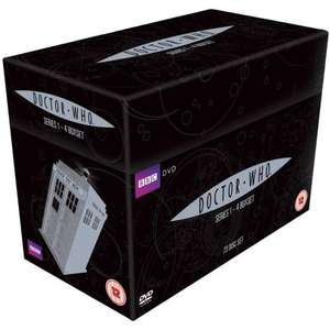 Doctor Who: Series 1 - 4 Collection [DVD] 23 discs £38.97 at Amazon