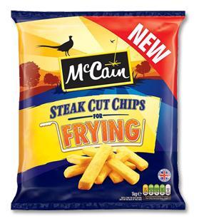McCains 1kg Steak Cut Fry Chips, was £1.99, Now 40p in Sainsburys.