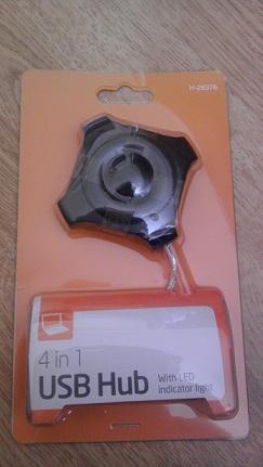 4 in 1 USB Hub £1 @ Poundworld