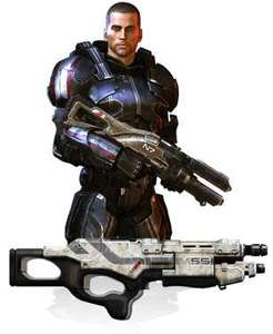 Mass Effect 3 + N7 Warefare Gear Pack + Kinect Sensor + Kinect Adventures @ ShopTo - £118.85