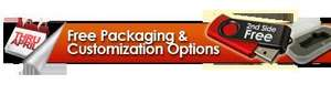 Free Customized USB Flash Drive Sample (Business Addresses Only)
