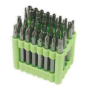 Security Bit Set 75mm 32 Pieces - Was £14.99, now £4.99 at Screwfix