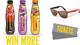 Free Lucozade Sunglasses & Road Trip Competition Entry