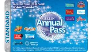 Merlin annual pass £40 in Tesco points gets 16,000 Avios points = 1x Merlin standard pass!