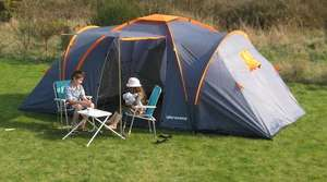 Ultracamp Churchill 6 Berth / Man Family Camping Tent £125.98 Delivered @ Ebay / Squarekipper