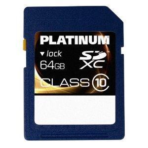 Platinum 64GB Class 10 SDXC Memory Card now £36.99 @ Amazon