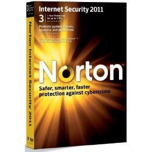 Norton Internet Security 2011 3 PC (Free upgrade to 2012) - Amazon - £9.99