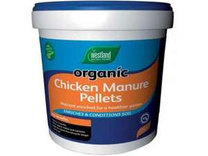 Westlands 3KG Box Pelletted Chicken Manure £2.86 ... BOGOF so 6KG for £2.86 @ Tesco Extra
