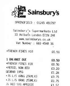 Walkers French Fries x 18 Pack 50p at Sainsburys