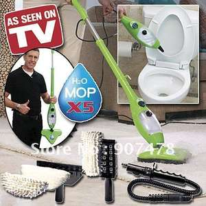 X5 H2O Steamer \ Multi-Floor mop is back on offer £61.92 at QVC