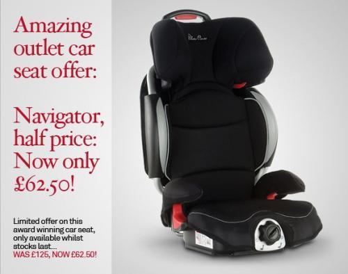 Silver Cross Navigator Car Seat Half Price: £62.50 @ Silvercross.co.uk